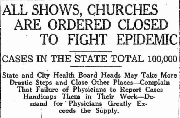 a report on the epidemic of influenza virus in 1918 in the united states of america America during the 1918 influenza pandemic in the spring of 1918, the united states was embroiled in world war i, fighting alongside the english, french a fierce enemy intervened an outbreak of influenza that would decimate entire regiments and towns.