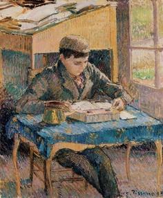 Boy, reading